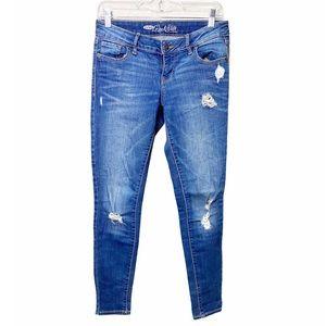 Old Navy Rockstar Distressed Skinny Jeans